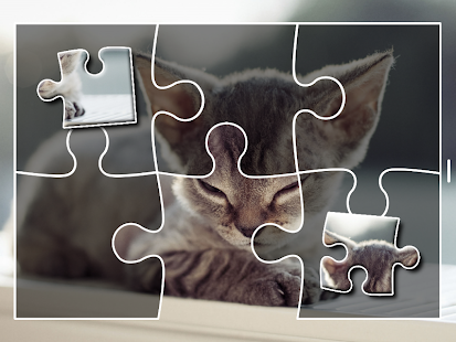 Kittens Jigsaw Puzzle for Kids Easy Puzzle Games- screenshot thumbnail