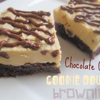 Chocolate Chip Cookie Dough Brownies Recipe