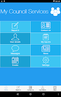 Screenshot of My Council Services UK & IE