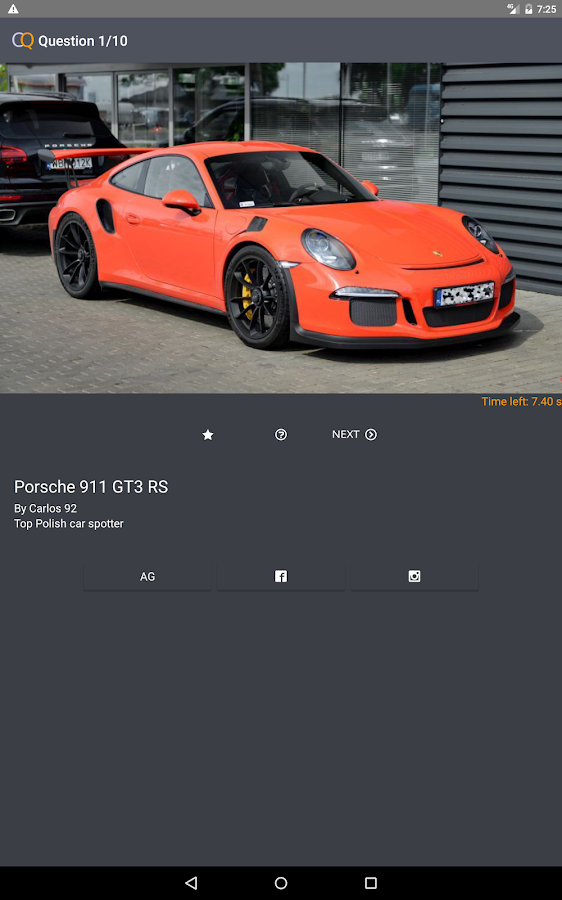 Car Quiz Recognize Cars Quiz Android Apps On Google Play - Sports cars quiz
