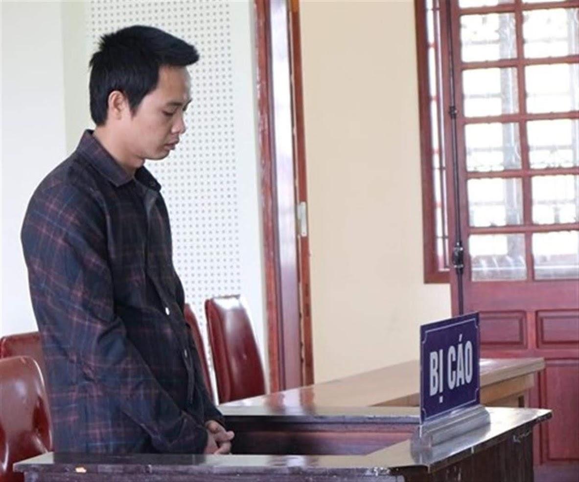 Bị cáo Trương Quang Thịnh tại tòa