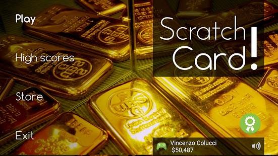 Scratch cards! Screenshot 1
