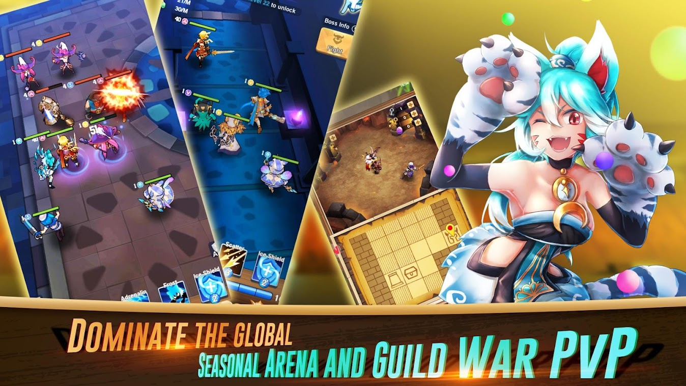Idle Fantasy – 3D Idle RPG poster
