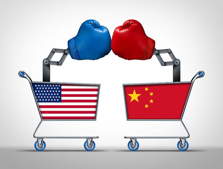 The US-China trade war is halted by a 90-day truce.