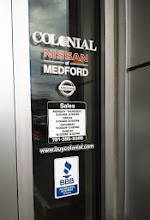 Photo: Colonial Nissan of Medford, MA proudly displaying your BBB Accreditation