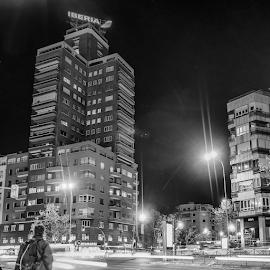 Avenida de America by Jesús Municio - Buildings & Architecture Other Exteriors ( noche )