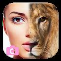 Animale faccia - Morphing viso icon