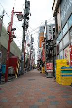 Photo: Shinjuku alleyway