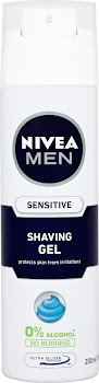Nivea Men Shaving Gel - Sensitive, 200ml