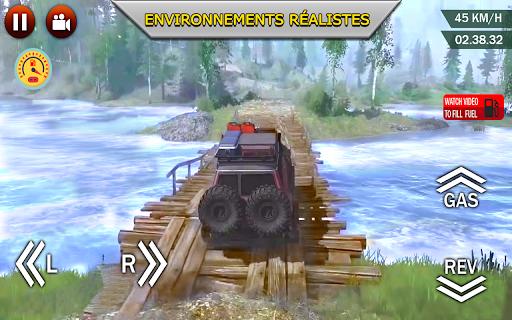 Code Triche hors route xtreme 4X4 se rallier courses chauffeur APK MOD screenshots 3