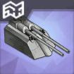 105mmSKC連装高角砲T2