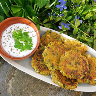 Courgette, Carrot and Feta Fritters Recipe