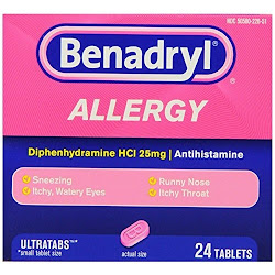 Benadryl Allergy Ultratab Tablets - 24 Count