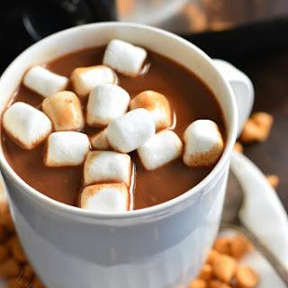 Slow Cooker Butterscotch Hot Chocolate.