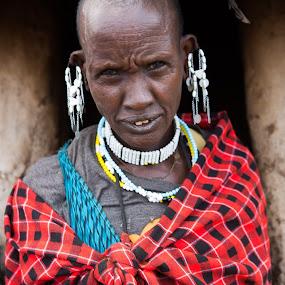 Maasai Woman by VAM Photography - People Portraits of Women ( tanzania, woman, culture, maasai, portrait, fashion,  )
