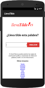 Lleva Tilde- screenshot thumbnail