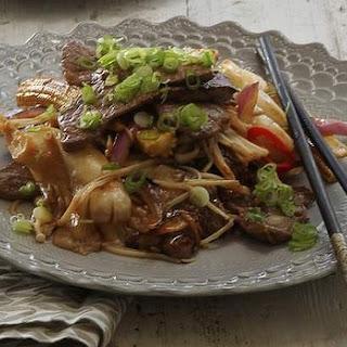 Tri-tip And Mushroom Stir-fry