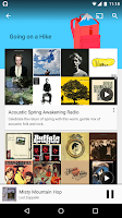 Screenshot of Google Play Music