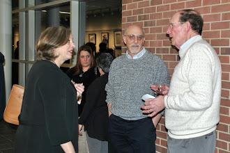 Photo: Dr. Stephanie Shanblatt, Dr. Michael Shanblatt, and BCCC Trustee Otto Grupp III