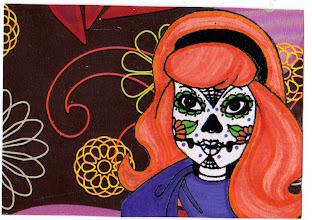 Photo: Wenchkin's Mail Art 366 - Day 230 - Card 230b
