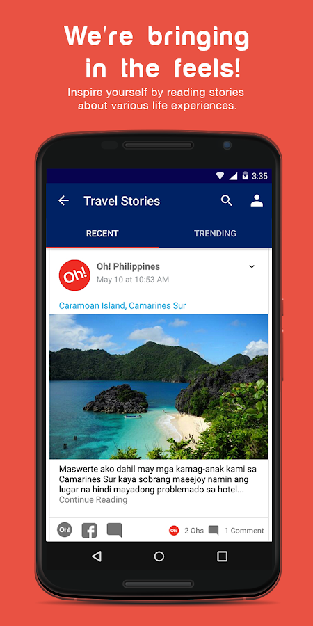Oh! Philippines- screenshot