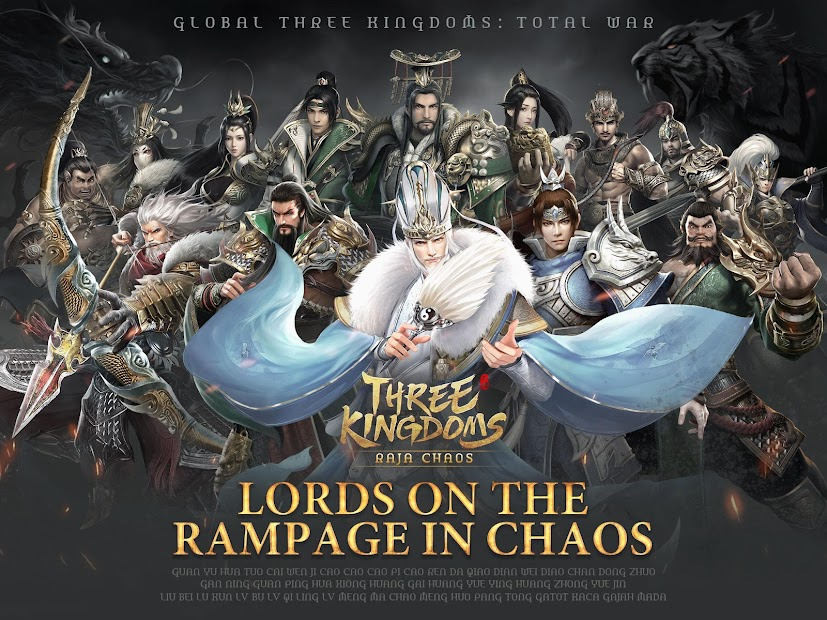 Three Kingdoms: Raja Chaos