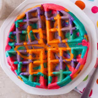 Tie-dye Waffles.