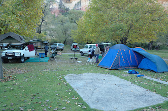 Photo: Camping at Glen Reenen, Golden Gate Highlands National Park (South Africa).