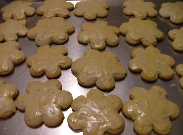 Soft Lavendar Sugar Cookie With Orange Glaze Recipe