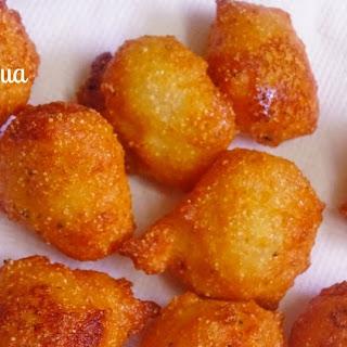 Suji Ka Pua(Sweet Semolina Fritters).