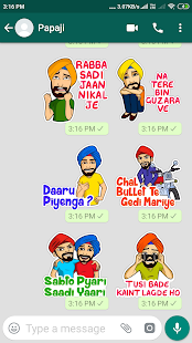 Download Punjabi Stickers For Whatsapp For PC Windows and Mac apk screenshot 7