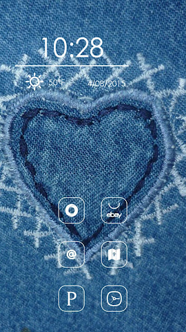 android Heart Shaped Embroidery Screenshot 2