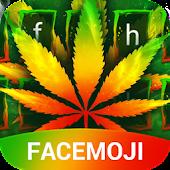 Tải Rasta Weed Keyboard Theme & Emoji Keyboard APK