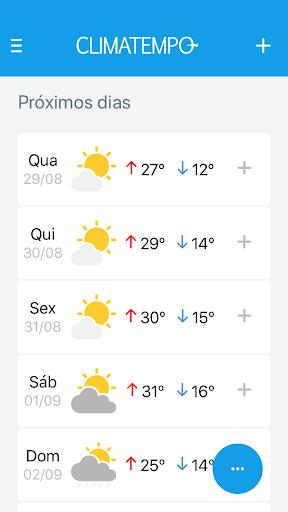 Climatempo - Radar meteorológico e muito mais! screenshot 3