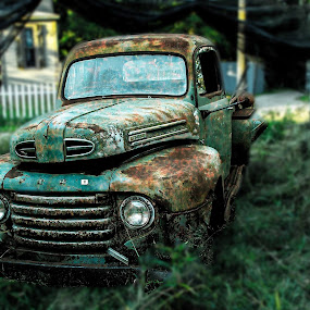 THE OLD FORD by Beth Krzes - Transportation Automobiles (  )