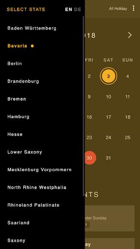 Germany Holiday Calendar 1.6 Screenshots 3