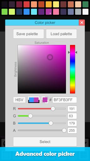 Pixel Studio - Pixel art editor, GIF animation 0.71 Screenshots 7