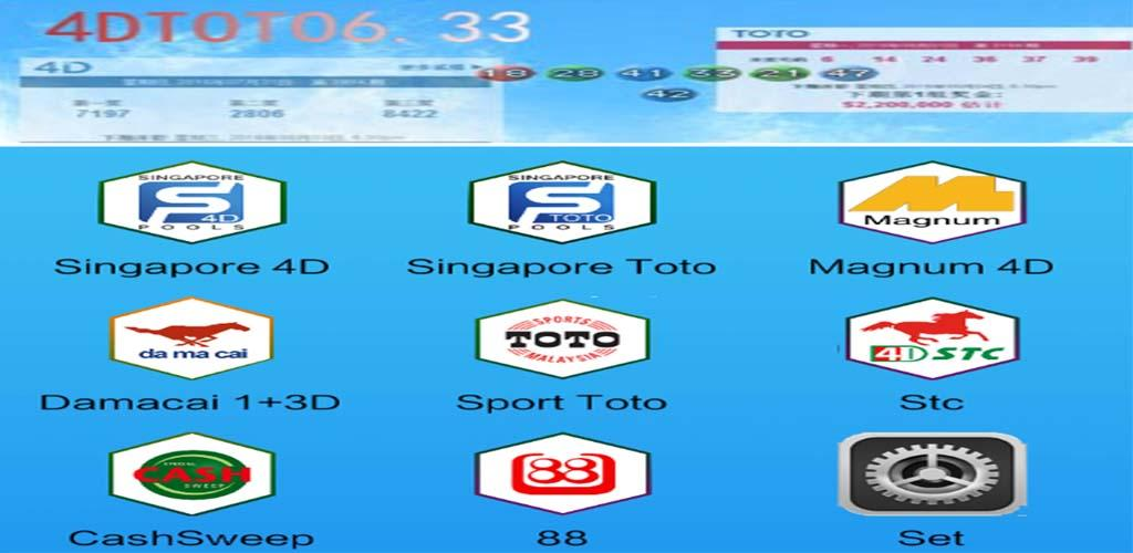 4D,Toto Results @6.33 (Sg &My)
