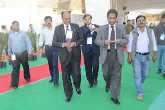 Photo: Md. Habibur Rahman Khan –Bangla Desh High Commission Commerce Minister's special visit to expo from New Delhi.