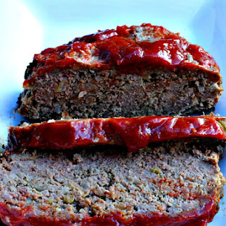 Classic Simple Meatloaf.