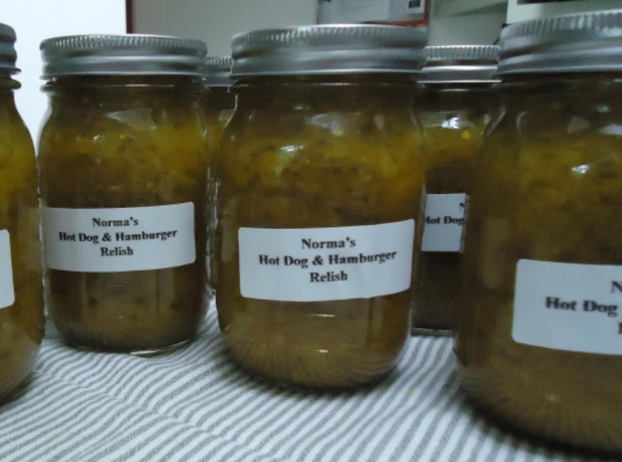 how to make hamvurger relish