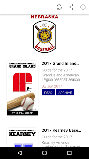 Nebraska American Legion Baseball Fan Guide- screenshot thumbnail