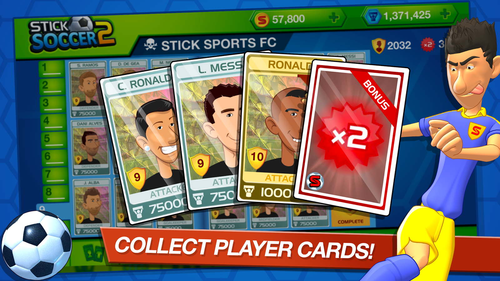 Stick Soccer 2- screenshot
