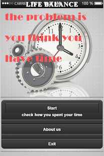 Time of your life- screenshot thumbnail