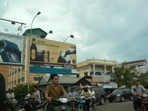 'Busy Road by Phnom Penn' by Seh Hui