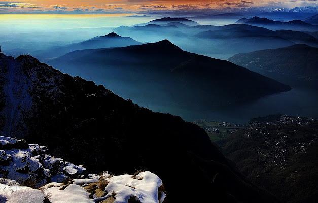 Nebbia d'autunno... di Freddiecavana