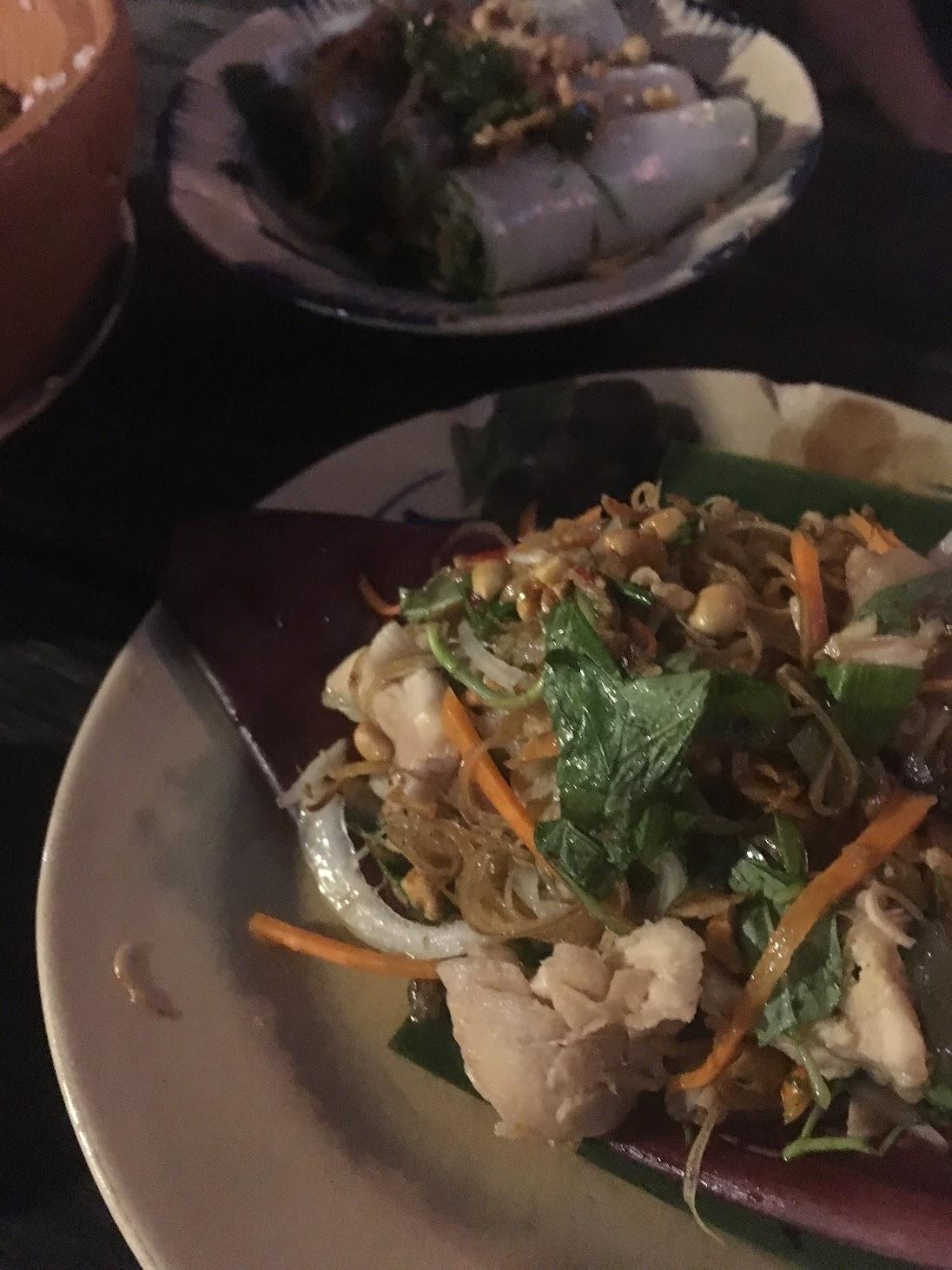 Mountain Retreat - Banana Leaf & chicken salad