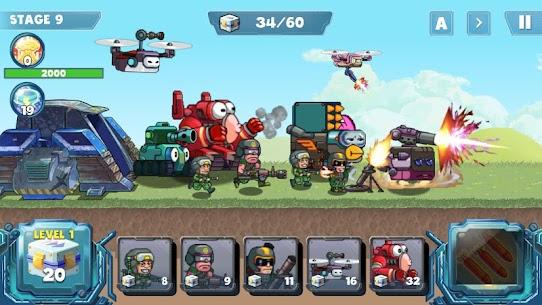 Defense War MOD (Unlimited Supplies) 1