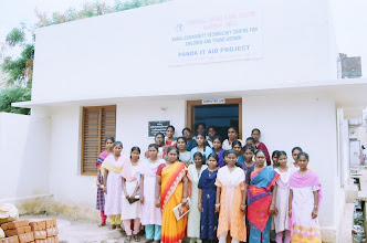 Photo: A section of our women trainees at our rural CTC
