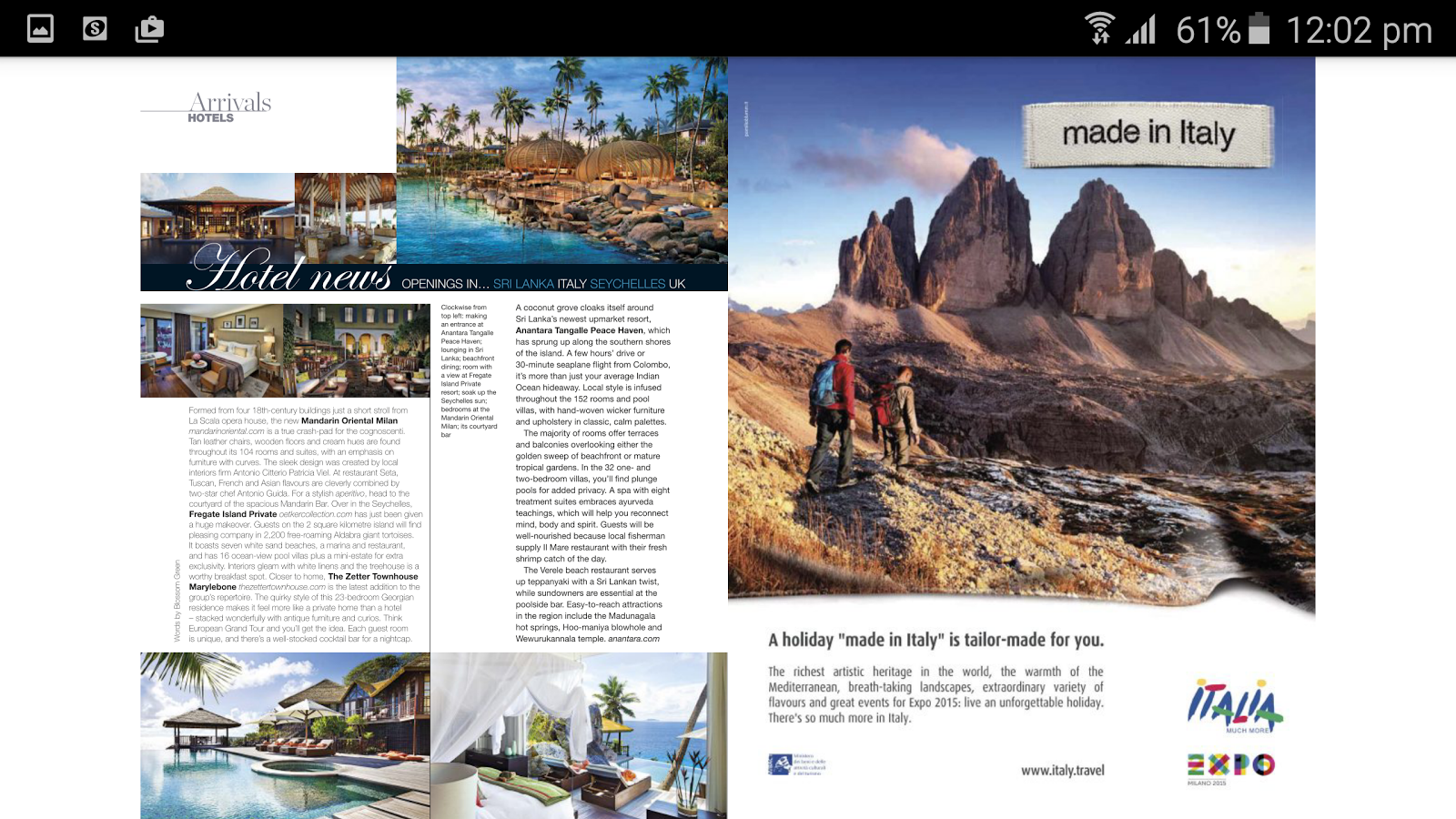 Food & Travel Arabia- screenshot